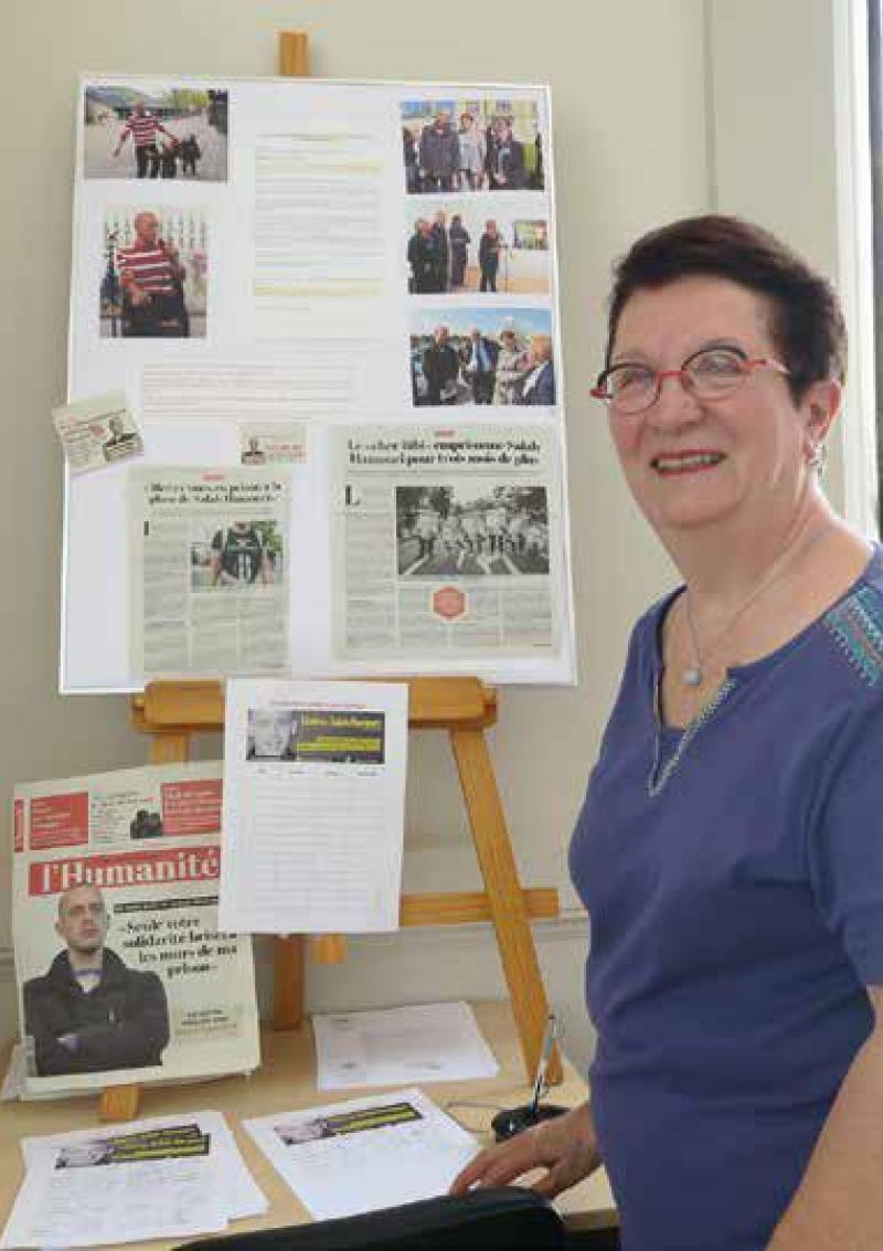 Evelyne, trente ans de lutte pour la Palestine