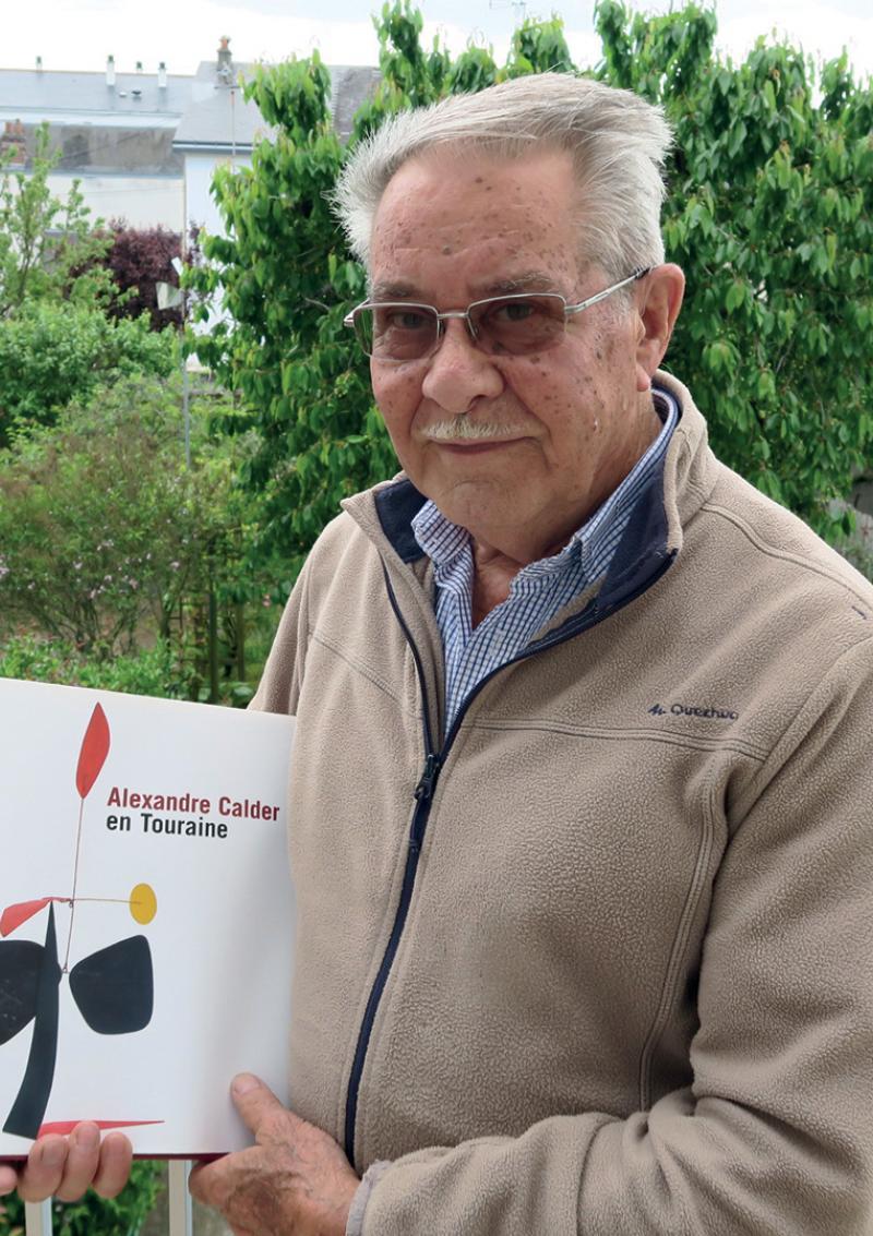 Michel Coquelet a monté l'homme de Calder à Montréal