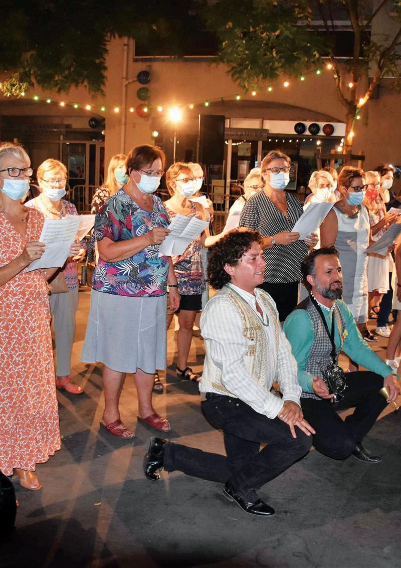 Tous en choeur avec la chorale du centre culturel
