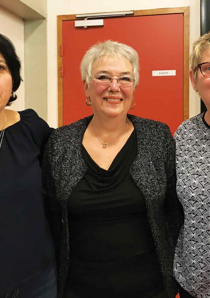 Trois femmes aux commandes de l'USSP Gymnastique volontaire