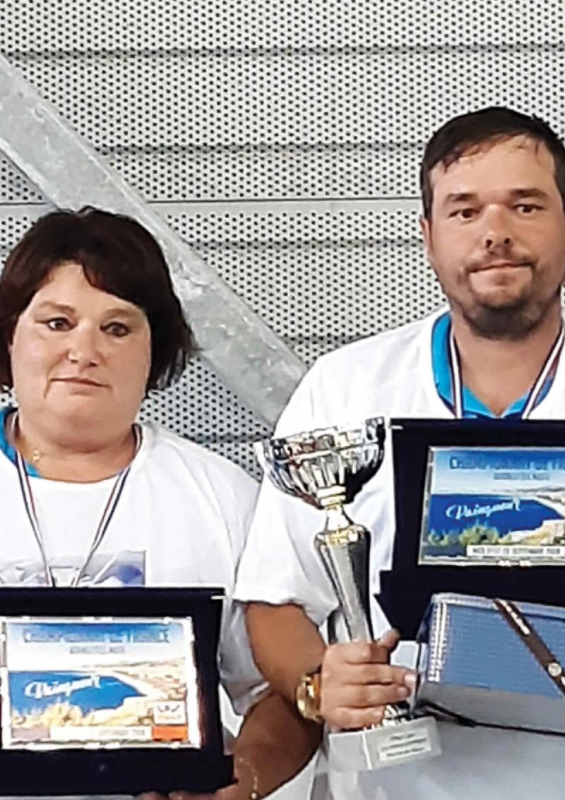 Sylvie et Tony, duo gagnant pour la pétanque